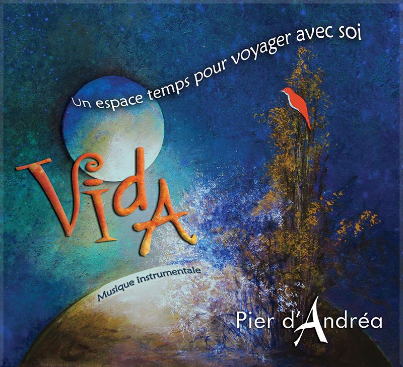 Pochette VIDA album instrumental pier d'andrea